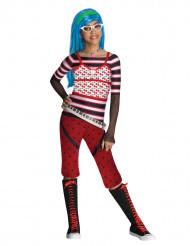 Kostüm Ghoulia Yelps Monster High™ für Mädchen - schlaaaauurrrig!