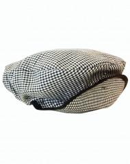 Karierte spanische Mütze