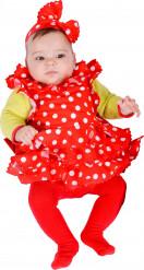 Stilechtes Spanien-Kostüm in Rot für Babys