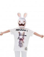 Maske und T-Shirt Rabbids