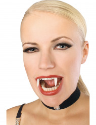 Phosphoreszierendes Vampir-Gebiss