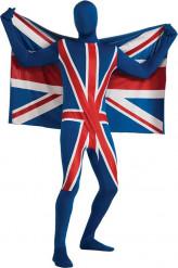 Hautenges Vereinigtes Königreich-Kostüm für Erwachsene
