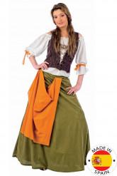 Kellnerin-Kostüm für Damen