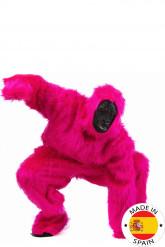 Rosa Gorilla-Kostüm für Erwachsene
