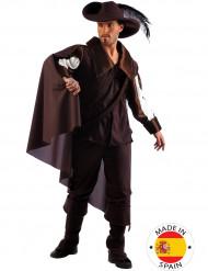 Musketier-Kostüm mit Hut für Herren