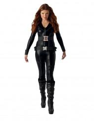 Schwarzes Witwen-Kostüm für Damen