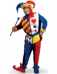 Joker Kartenspiel-Kostüm für Erwachsene
