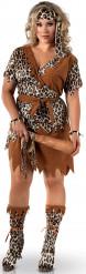 Höhlenmensch-Kostüm für Damen