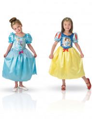 Schneewittchen™ und Cinderella™ Wendekostüm für Mädchen