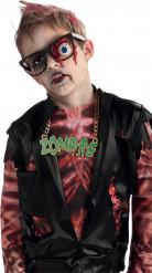 Brille mit Zombie-Auge