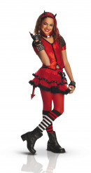 Teuflisches Gothic-Kostüm für Mädchen