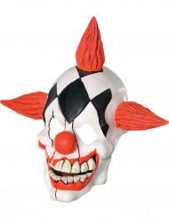 Böse lachende Clowns-Maske für Erwachsene