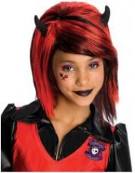 Gothic Girl-Perücke für Mädchen