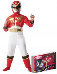 Rotes Power Rangers Megaforce™-Kostüm für Jungen