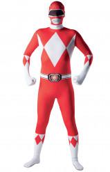 Hautenges Power Rangers™-Kostüm für Erwachsene