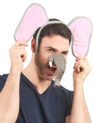 Weiche Elefanten-Nase