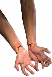 Aufgeschnittene Pulsadern-Schminke