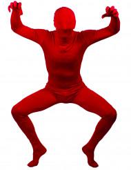 Rotes, hautenges Kostüm für Erwachsene