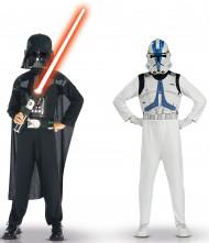 Star Wars Darth Vader und Clone Troopers™-Kostüm für Kinder