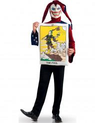 Joker-Karten-Kostüm für Erwachsene