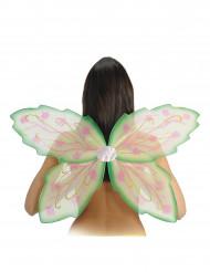 Grüne Schmetterlings-Flügel für Erwachsene