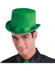 Grüner Zylinder-Hut für Erwachsene