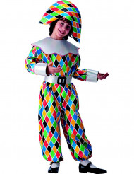Harlekin-Kostüm für Jungen