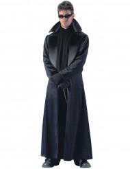 Schwarzes Mantel-Kostüm für Herren