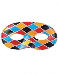 Harlekin-Augenmaske für Erwachsene
