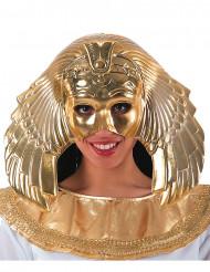 Goldene Halbmaske einer ägyptischen Königin für Damen