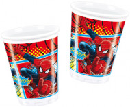 8 Spiderman™ Plastikbecher