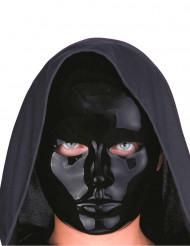 Schwarzes Gesicht - Maske für Erwachsene