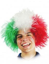 Italien Fan-Perücke für Erwachsene