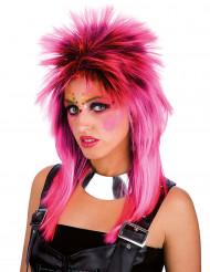 Rosa Punk-Perücke für Erwachsene