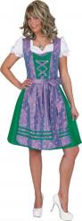 Traditionelles Dirndl Kostüm - lila