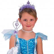 Lila Prinzessinnen-Set für Mädchen