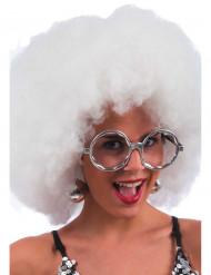 Graue Disco-Brille für Erwachsene