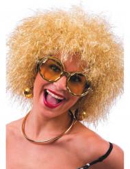 Goldene Disco-Brille für Erwachsene