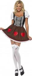 Sexy bayrisches Dirndl-Kostüm für Damen