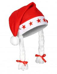 Leuchtende Weihnachts-Mütze für Erwachsene