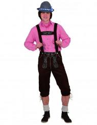 Traditionelles bayrisches Latzhosen-Kostüm für Herren