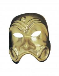 Goldene Theater-Maske für Erwachsene