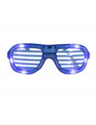 Blaue LED-Brille