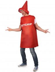 Ketchup-Tube - Kostüm für Erwachsene