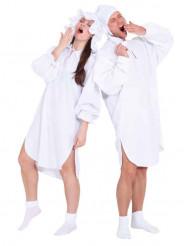 Altmodisches Schlafanzug-Kostüm für Erwachsene