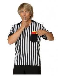 Fußball Schiedsrichter-Hemd Kostüm für Herren