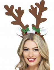 Weihnachtlicher Rentier-Haarreif