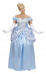 Blaues Märchenprinzessinnenkleid für Damen