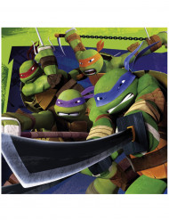 20 Ninja Turtles™ Papier Servietten