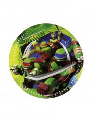 8 Ninja Turtles™ Pappteller